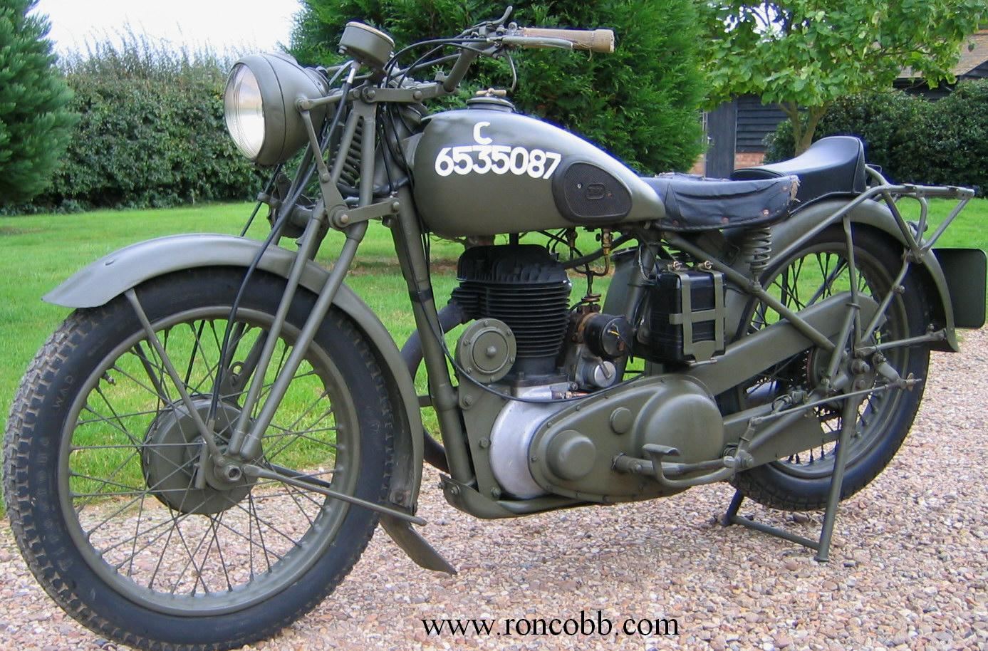 Bsa wm20 classic military motorcycle for sale for Vintage motor cycles for sale