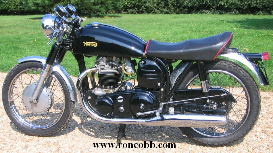 1958 Norton Dominator classic motorcycle for sale