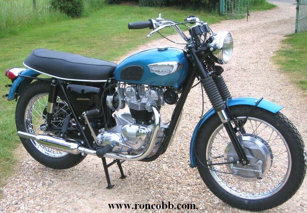 1968 triumph trophy classic motorcycle for sale