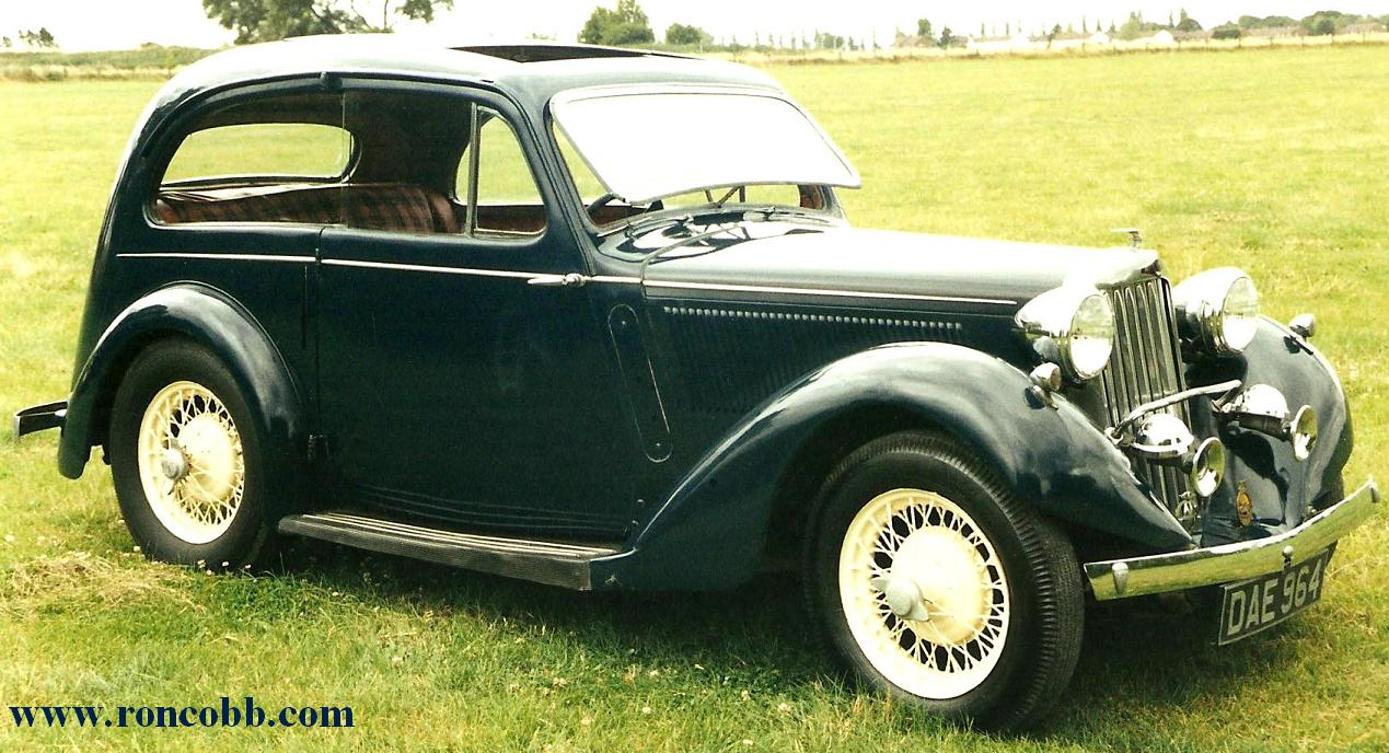 1936 Talbot 10 Airline Coupe