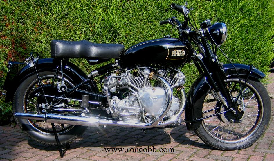 1949 hrd vincent classic motorcycle for sale for Vintage motor cycles for sale