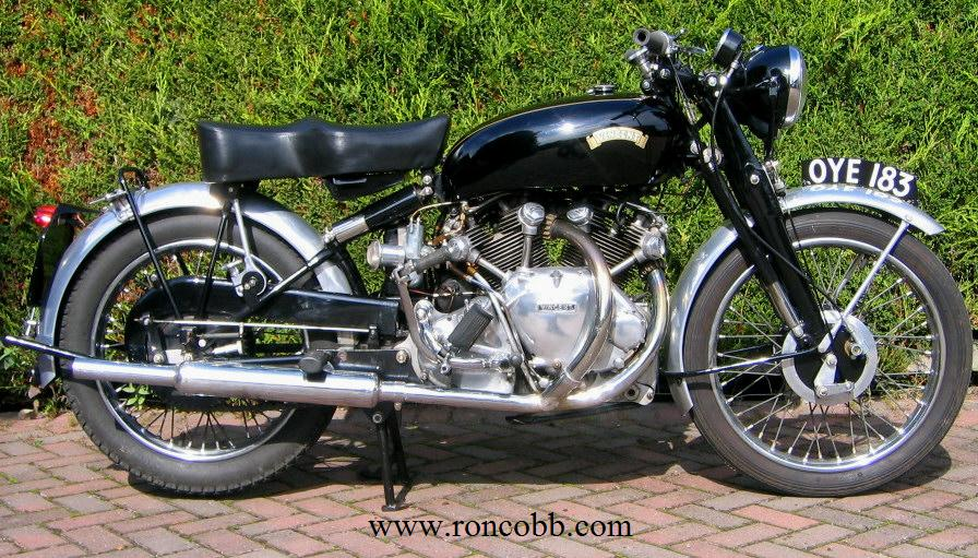 Vincent Rapide Classic Motorcycle