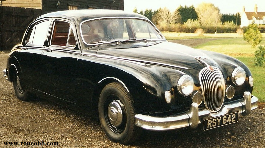 1959 Jaguar Mark 1 Sports Saloon classic car for sale.
